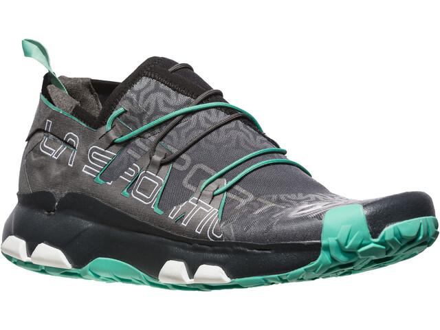 La Sportiva Unika Running Shoes Damen carbon/jade green